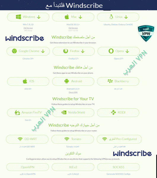 ويند سكرايب Windscribe VPN