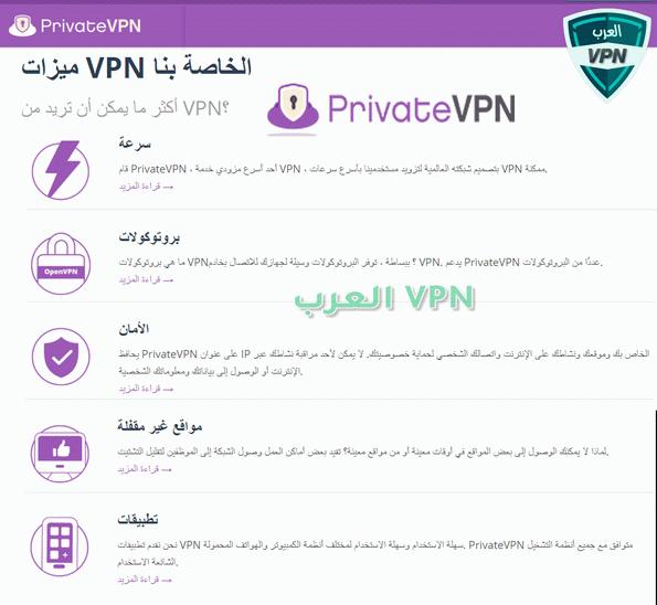 برايفت في بي ان PrivateVPN
